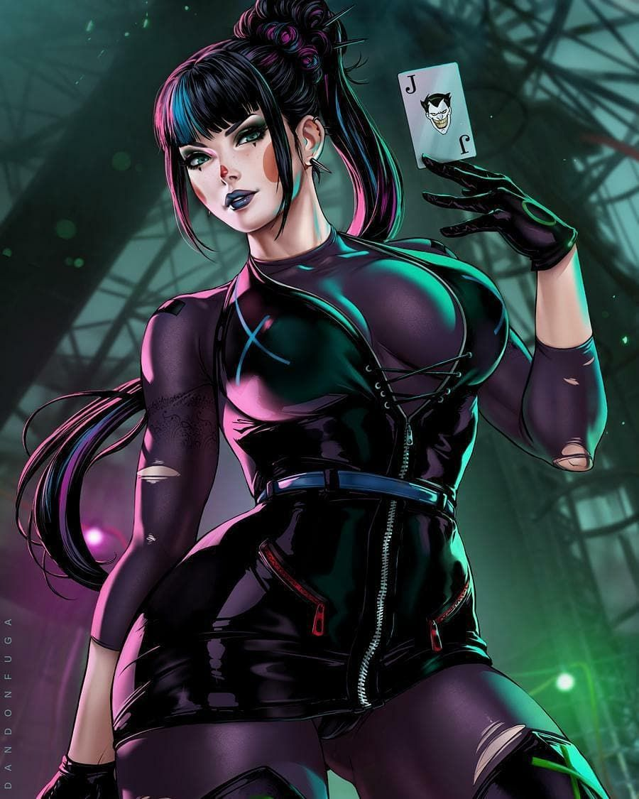𝐏 𝐔 𝐍 𝐂 𝐇 𝐋 𝐈 𝐍 𝐄 On Instagram 𝗶𝘀 𝘁𝘆𝗽𝗶𝗻𝗴 I Don T Even Play Cards But The Joker Surely Is My Fa In 2020 Comic Book Girl Dc