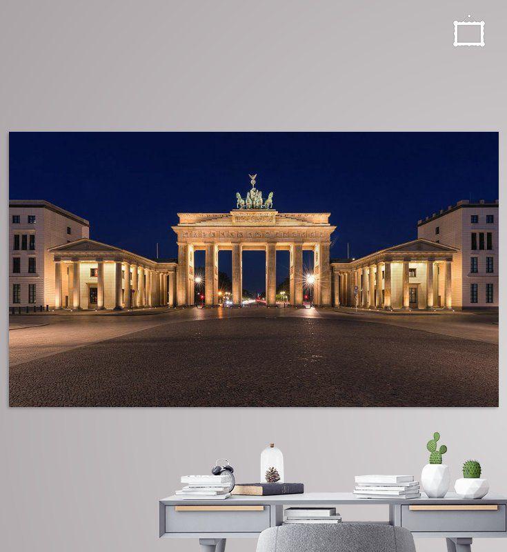 Zonsopkomst Bij De Brandenburger Tor Van Henk Meijer Photography Op Canvas Behang En Meer In 2020 Sonnenaufgang Brandenburger Tor Bilder