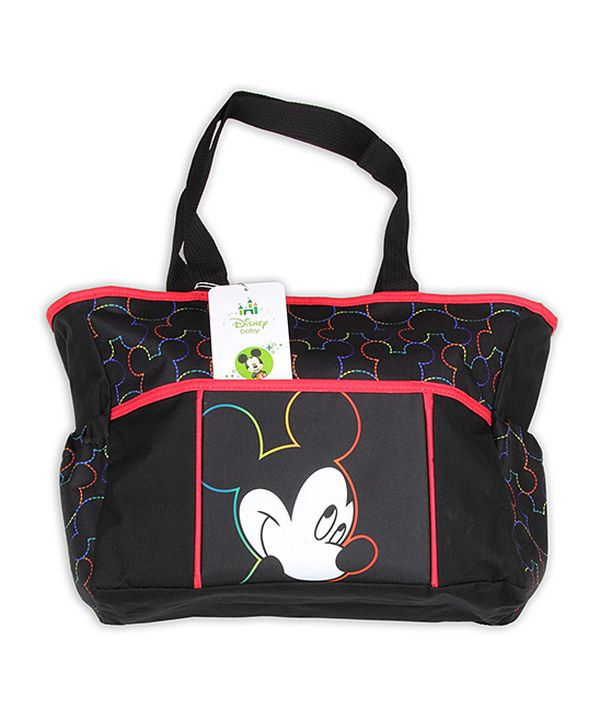 Love This Black Red Mickey Mouse Diaper Bag By On Zulily Zulilyfinds