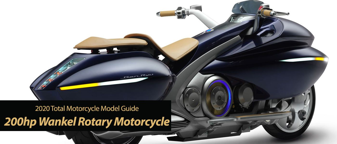 New 200hp Wankel Rotary Engine Motorcycle Coming In 2020