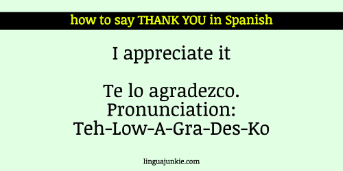 21 Ways To Say Thank You In Spanish You Re Welcome Thank You In Spanish Spanish Learning Spanish
