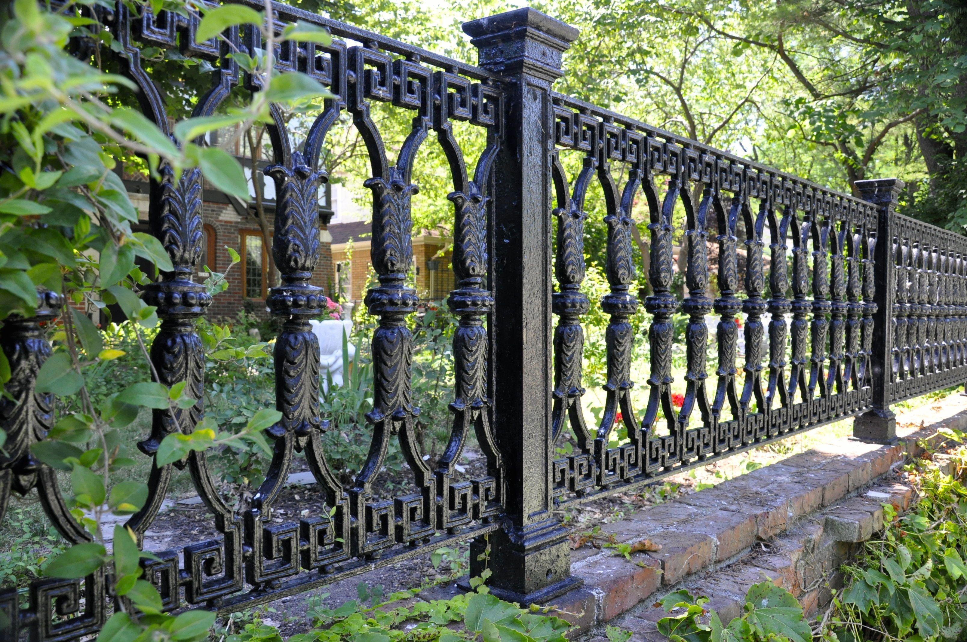 Beautiful wrought iron fence | 1000 in 2020 | Wrought iron fences, Fence design, Iron garden gates