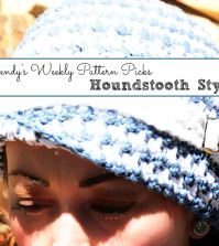 Wendy's Weekly Pattern Picks Houndstooth Style