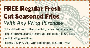 image about Wingstop Printable Menu named Pin upon Wingstop Discount codes