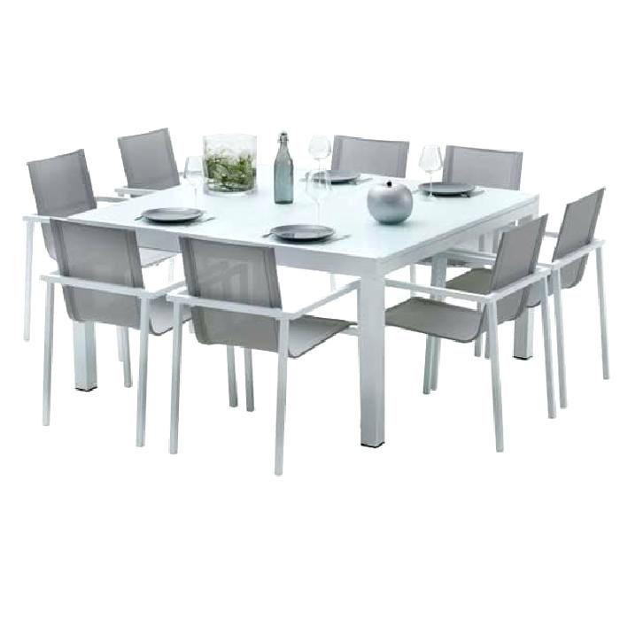 Ensemble Table Et Chaise Jardin De Metal
