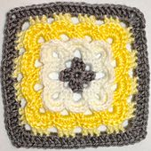 Ravelry: Unique granny square motif pattern by Maja Bosnic