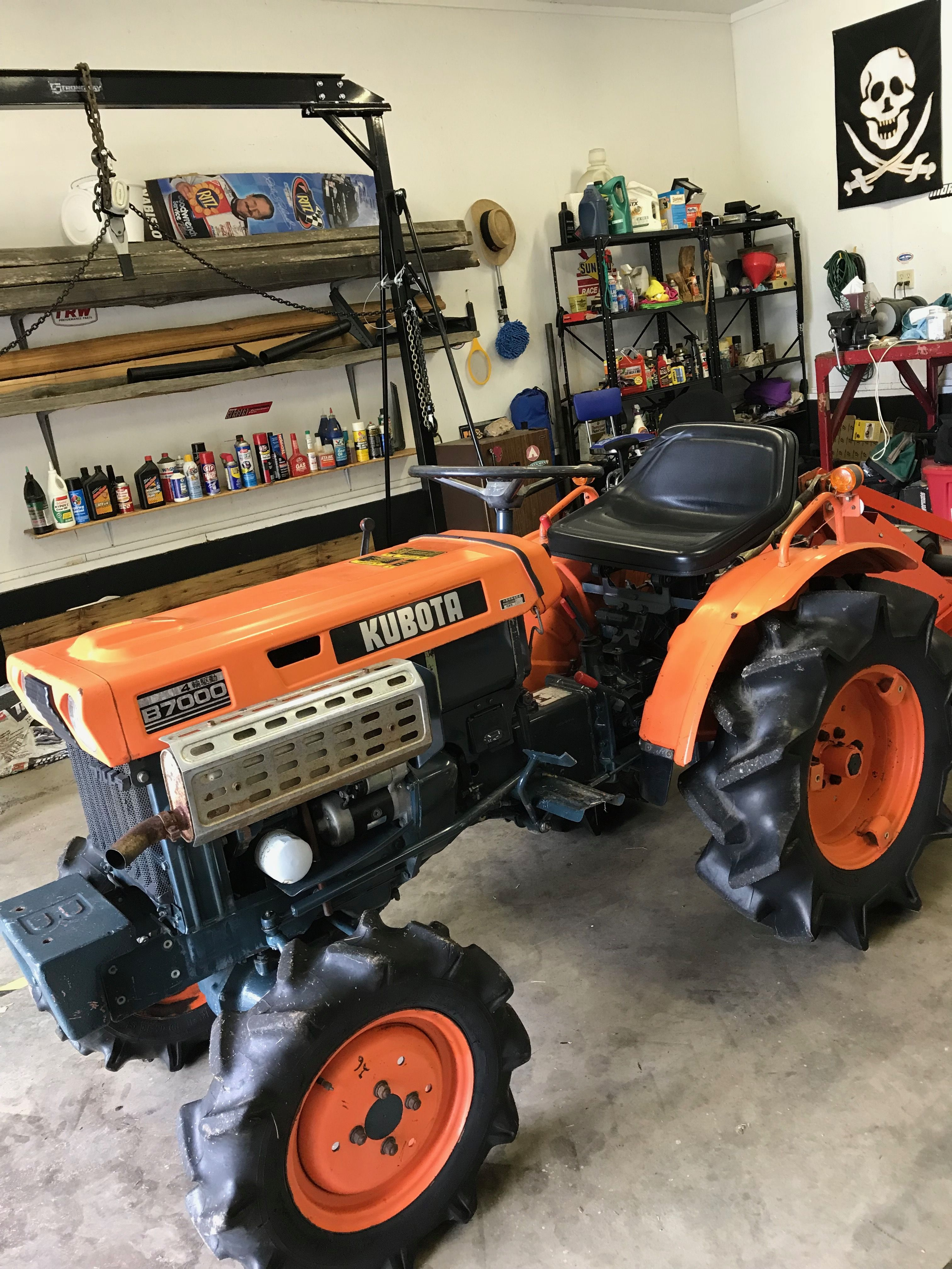 kubota b6200d tractor illustrated master parts list manual download
