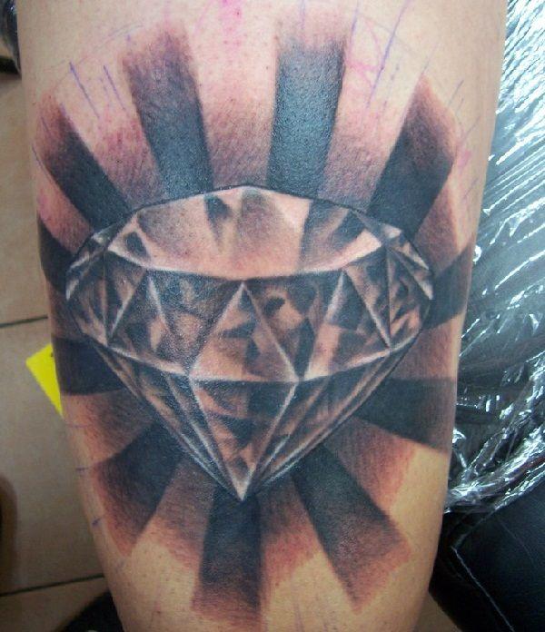Best diamond tattoo designs diamond tattoo designs for Tattoos of diamonds