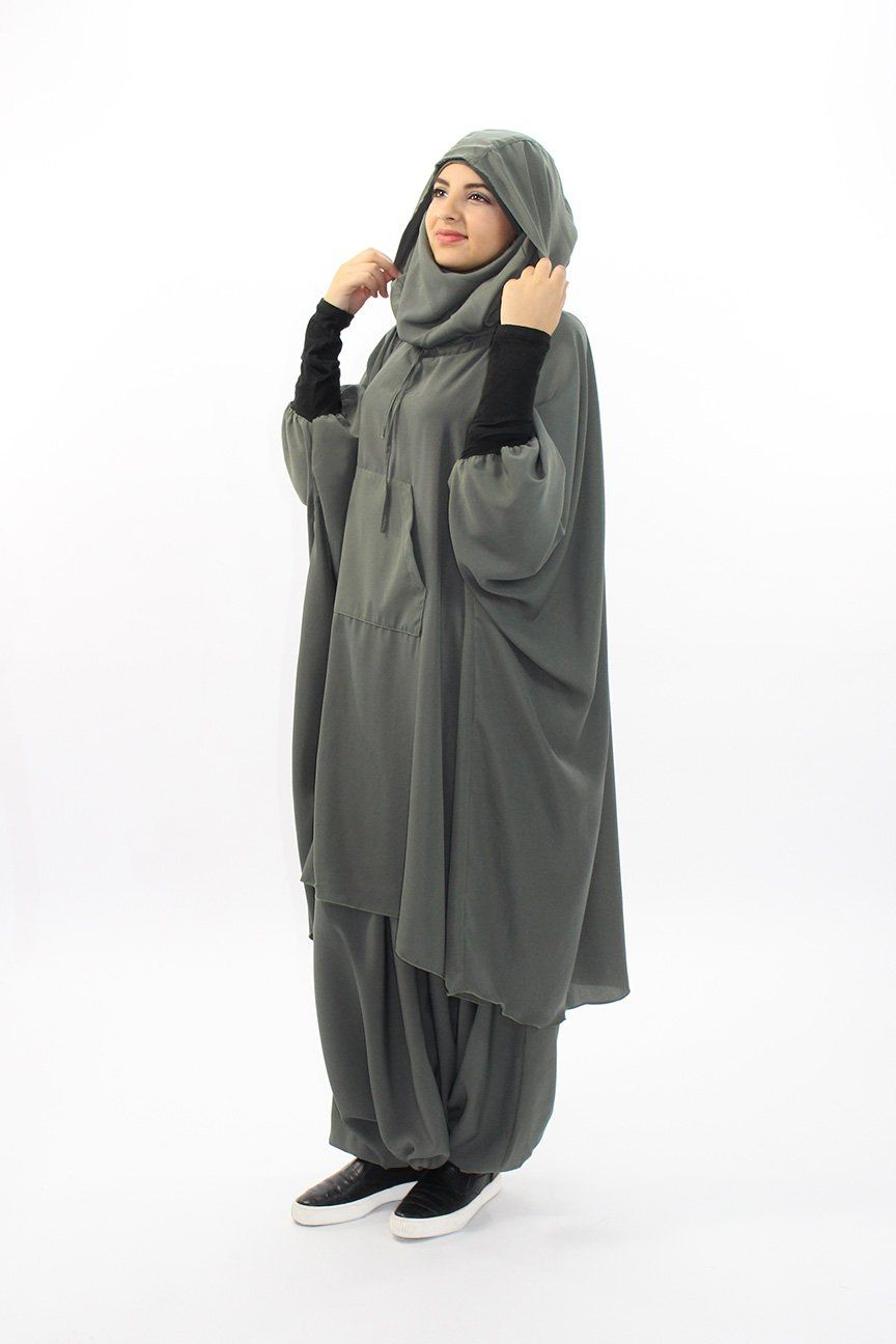 Ensemble Active Wear Hijaby Pinterest How To Busana Muslim Abaya Layla Phasmina Hijab Fashion Womens Style Outfit Modest