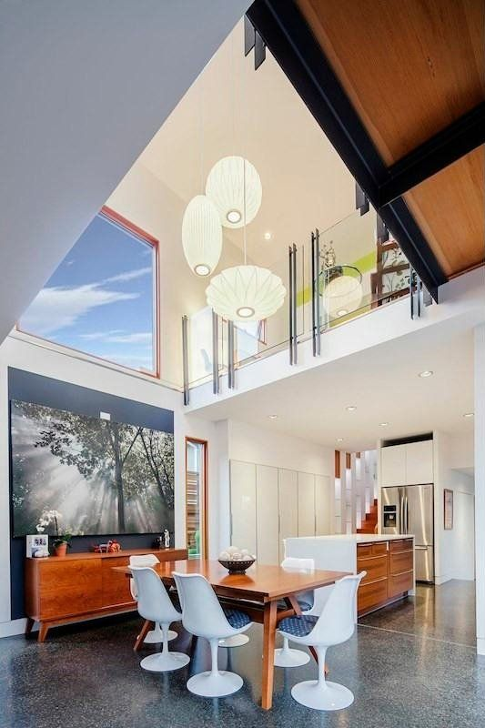 Modern And Luxurious Double High House In Nanaimo Canada by