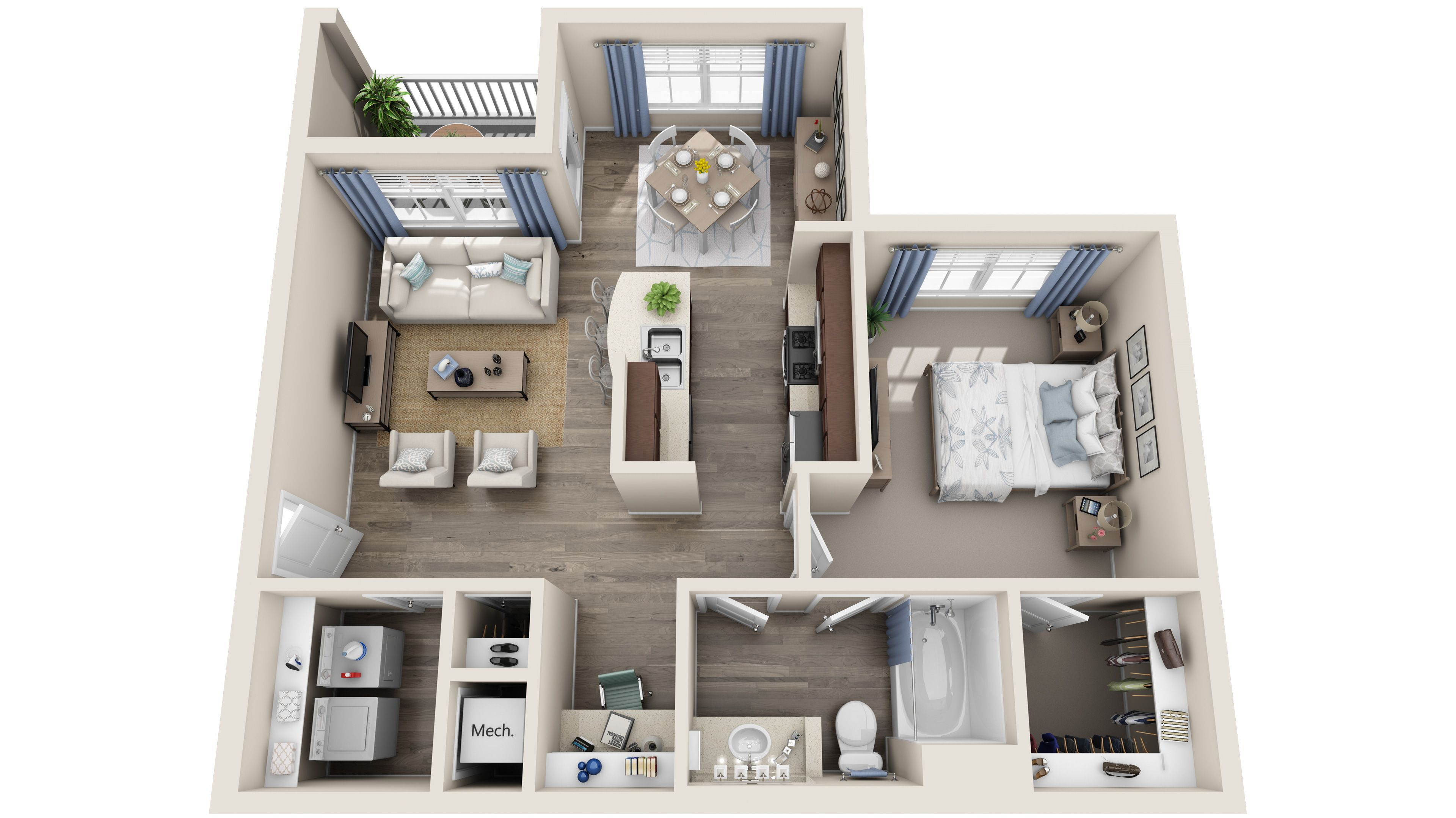 Standard 3d Floor Plans Guest House Plans House Layout Plans Small House Design Plans