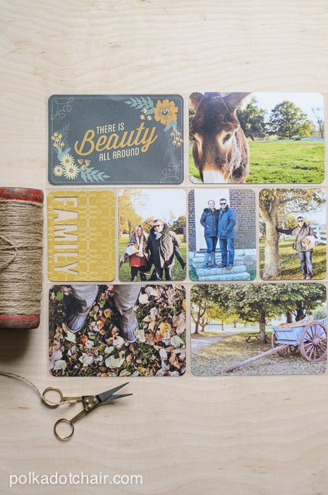 How To 3 X 4 Photos For Scrapbooking Project Life Project Life