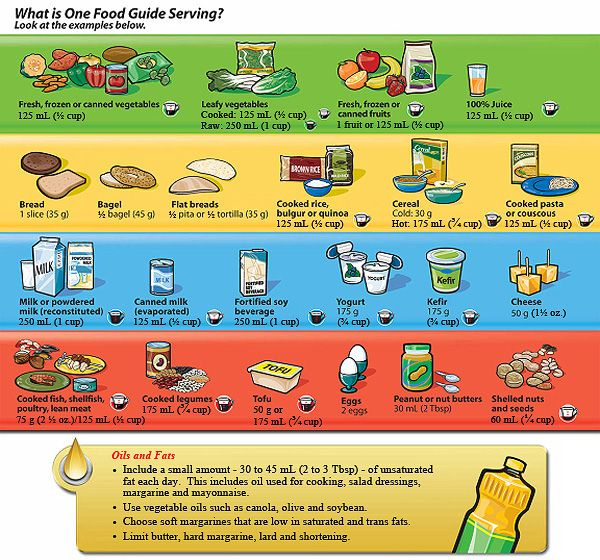 Canada's food guide and recommendations. | Why Eat Healthy