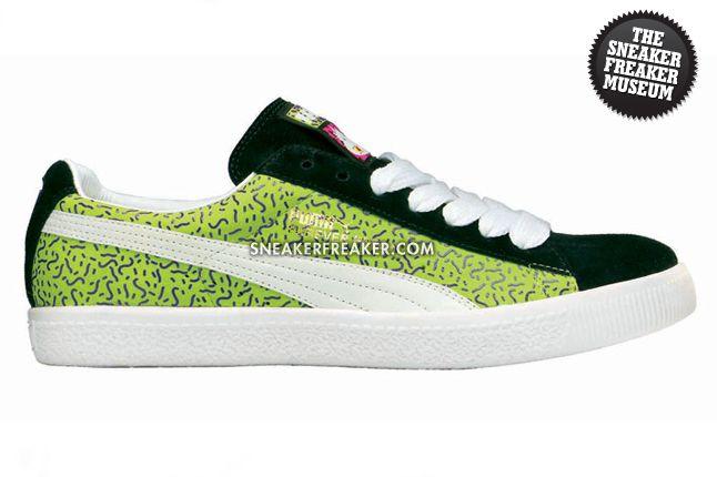 409a216a2b6 PUMA - Casual - Clyde - Yo! MTV Raps - Green