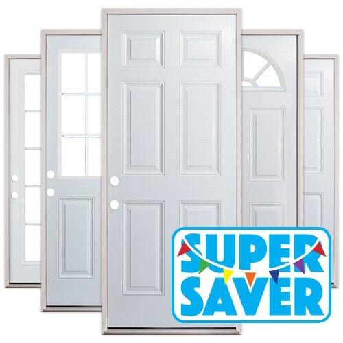 super saver prehung steel door units for the home pinterest
