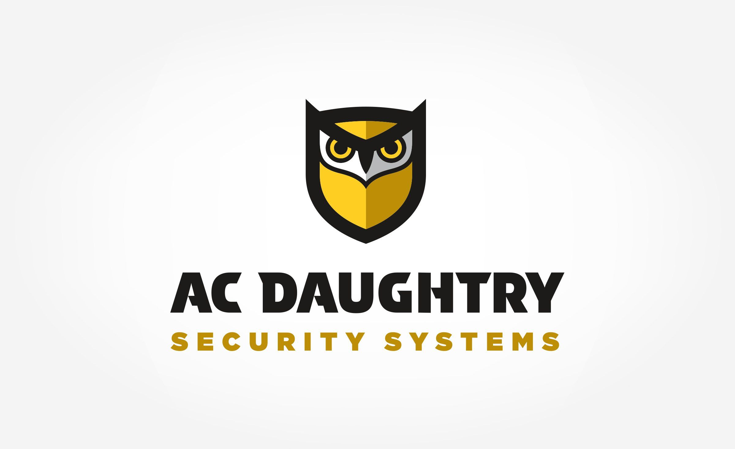 Logo design for A.C. Daughtry Security Systems, a security company