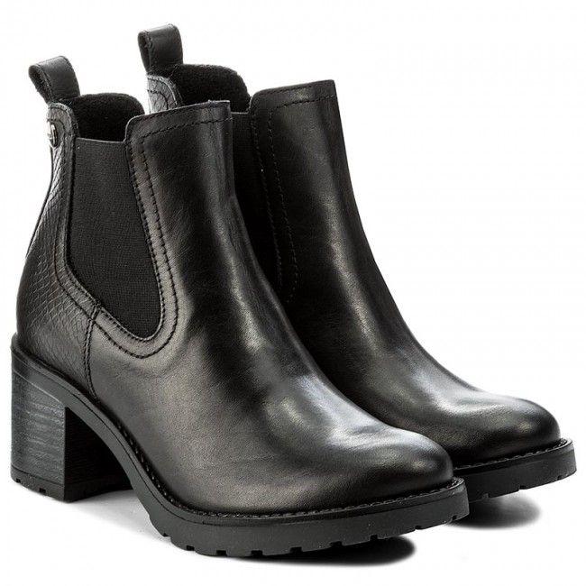 Botki Lasocki 4381 01l Czarny Fashion Boots Boots Chelsea Boots