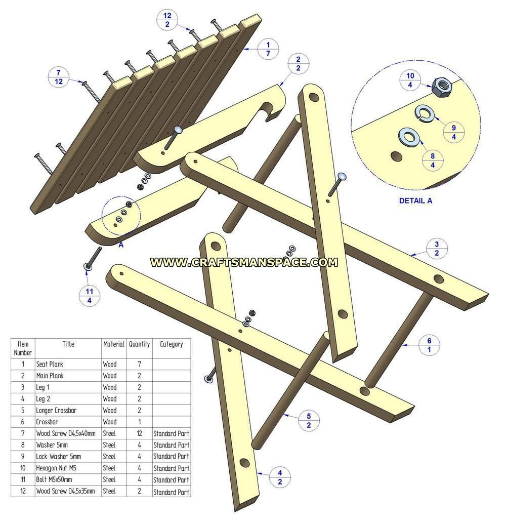 Free Folding Picnic Table Plans Google Search Woodworking Tips