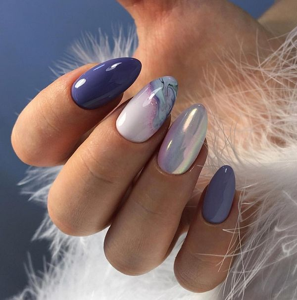50 Easy Gel Nail Art Designs Trends Ideas 2020 Almond Nails