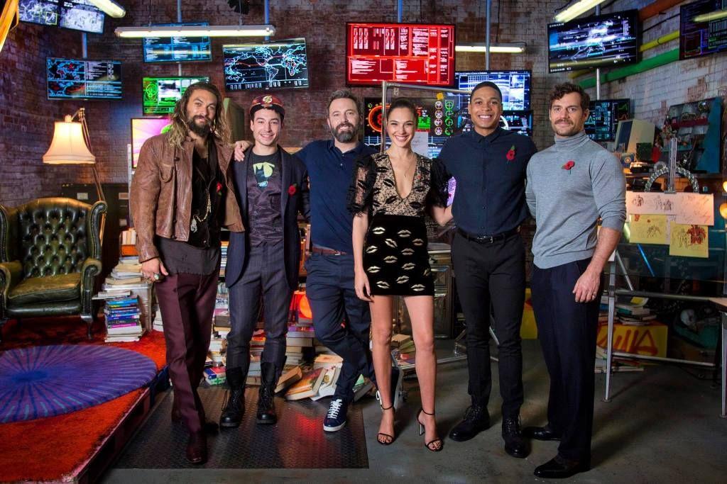 Justice League Cast Interviews Justice League Cast Justice League 2017 New Justice League