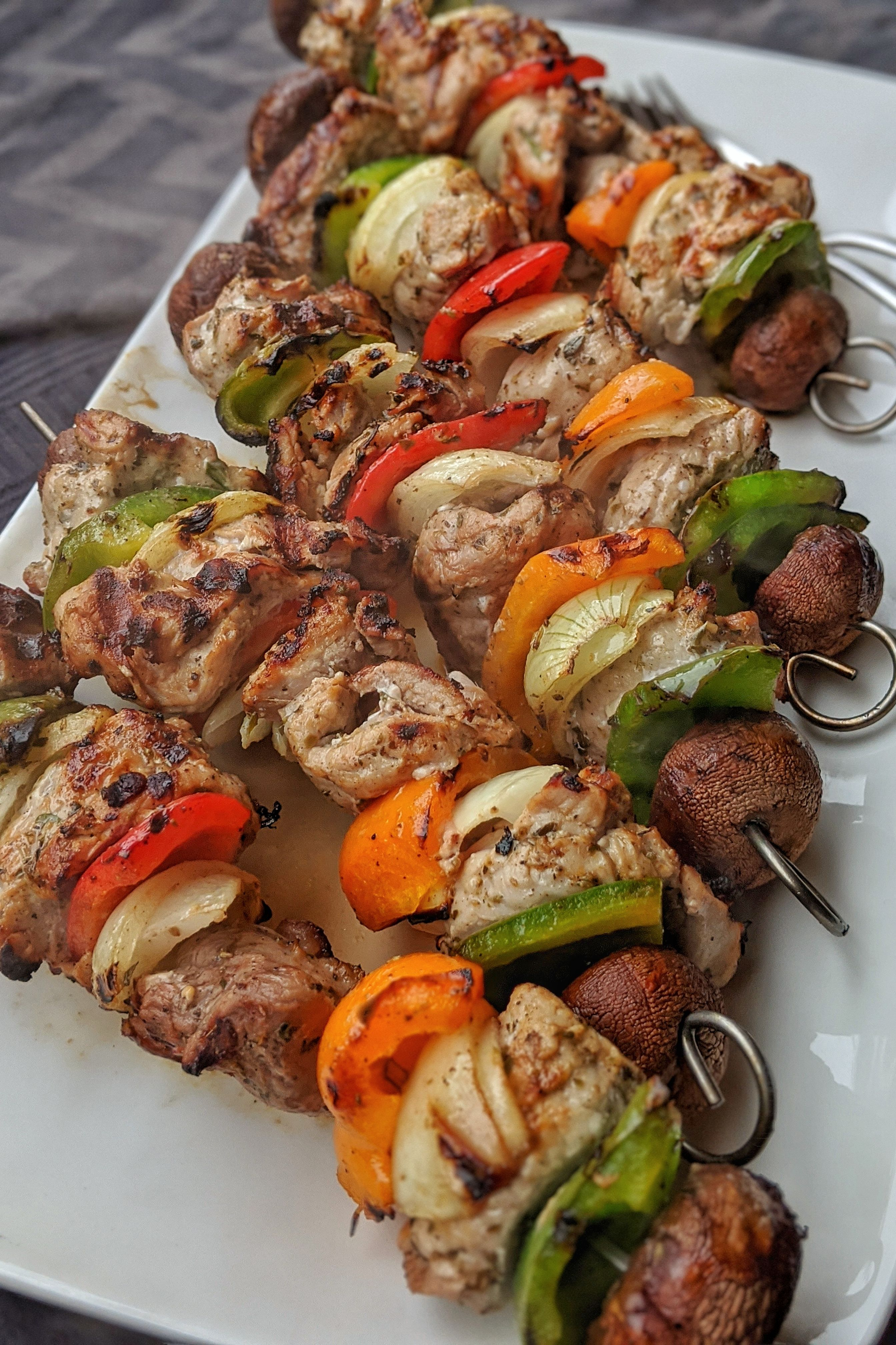 Photo of Souvlaki kebabs from turkey or chicken – totally delicious, healthy and simple – click to the recipe