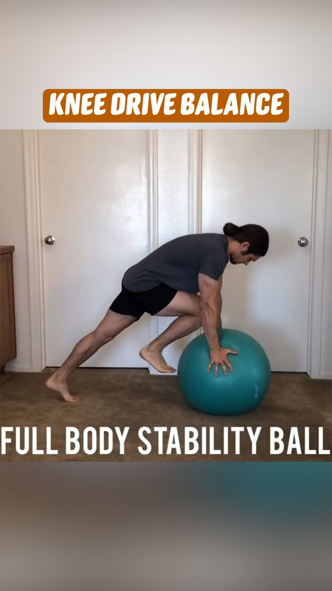 ⚗️ Stability ball workout! ⚗️