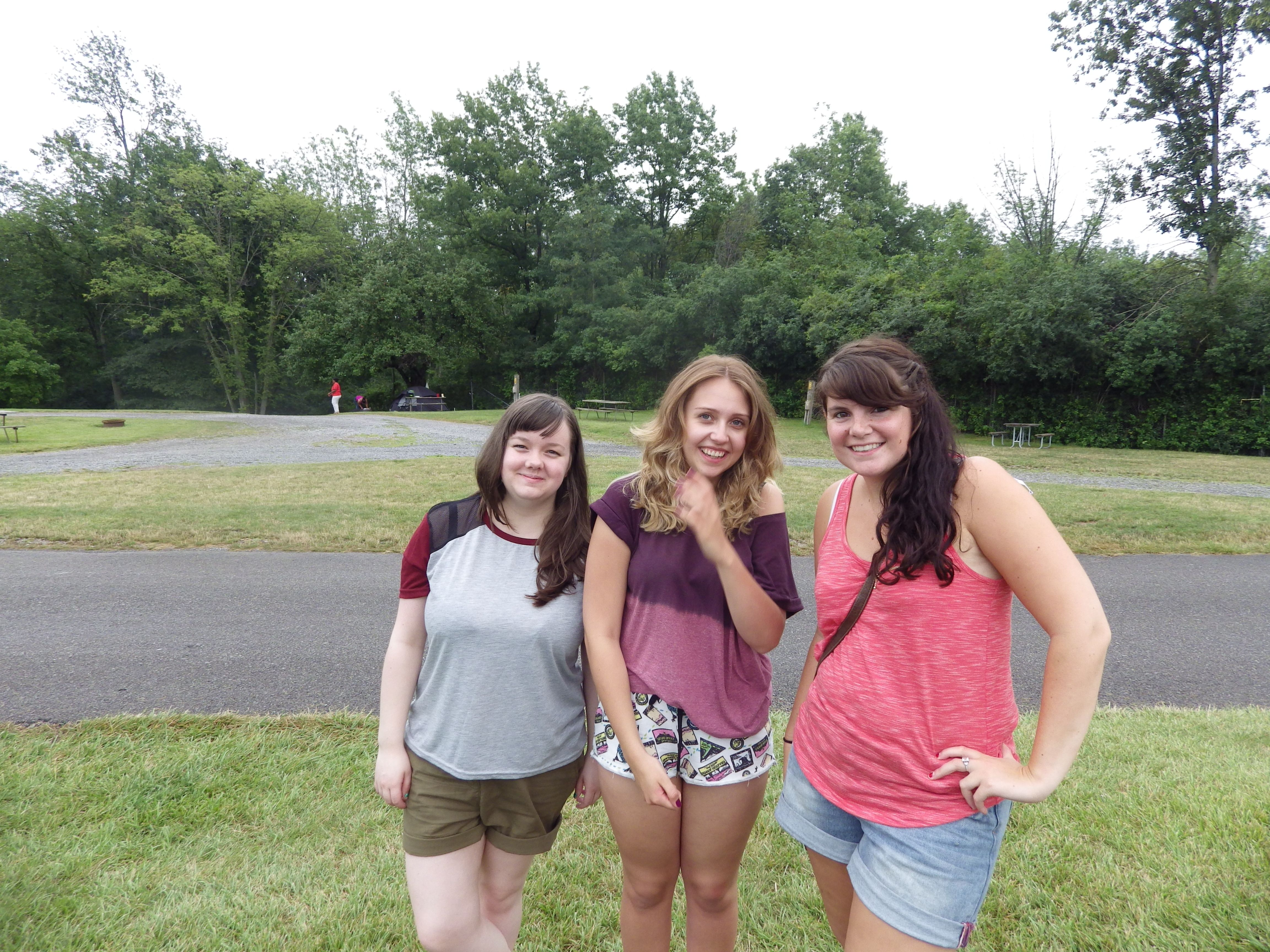 Day 1- First night camping near Niagara Falls ...