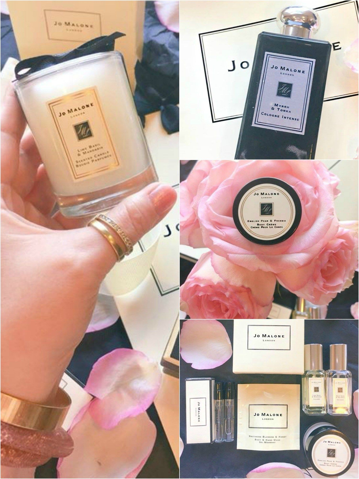 Jo Malone   Beauty haul   Cologne   Product review   Pink