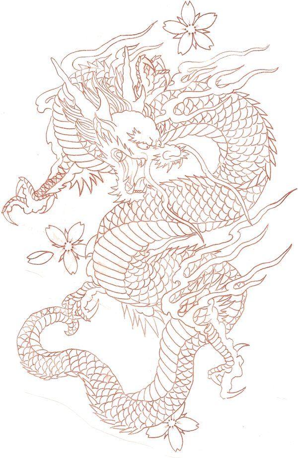 Cherry Dragon By Tat 2 Udeviantartcom On At Deviantart Tattoos
