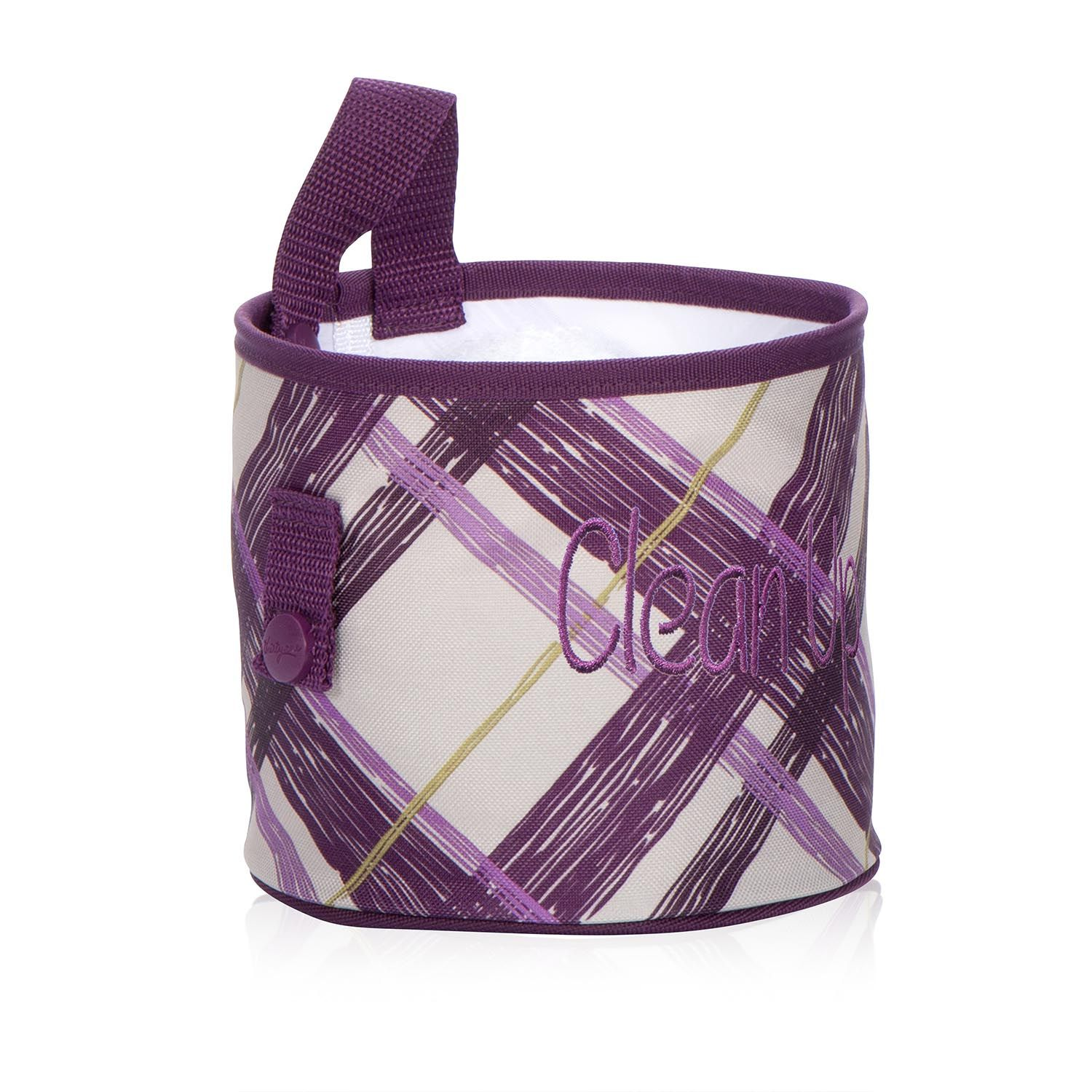 Oh snap bin ideas - Oh Snap Bin In Plum Plaid For 10 Snaps Are The Secret Of This