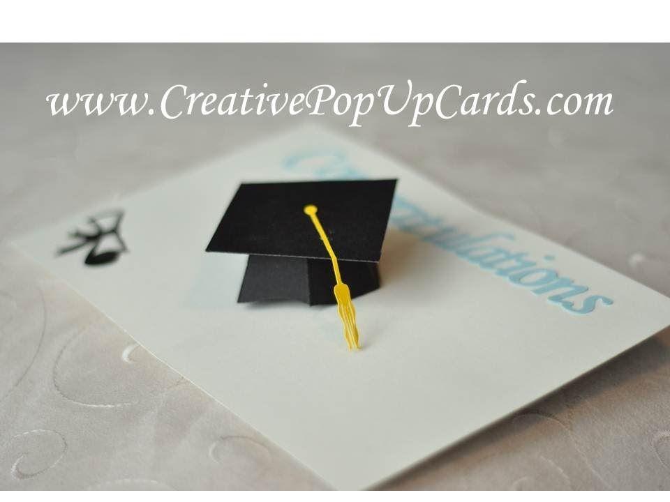 Pin By Carol Paiva On Cartoes Pop Up Card Templates Pop Up Cards Diy Graduation Gifts