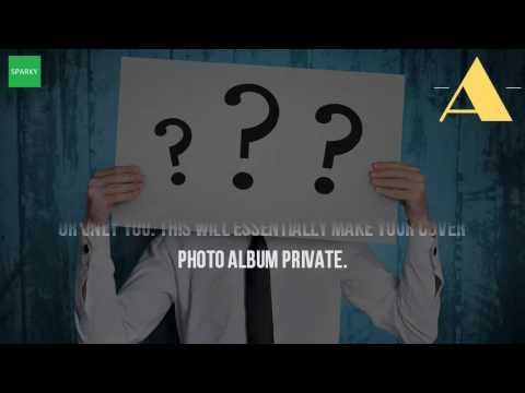 How to make cover photos private