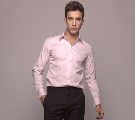Paris Pink Dress Shirt and Business Shirt from Michelozzo Shirts ...