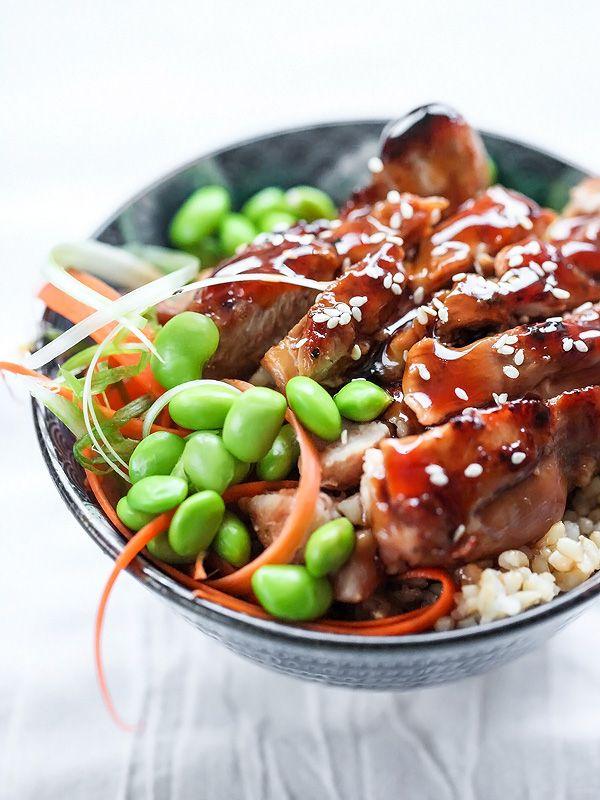 7 Spice Teriyaki Chicken Rice Bowls