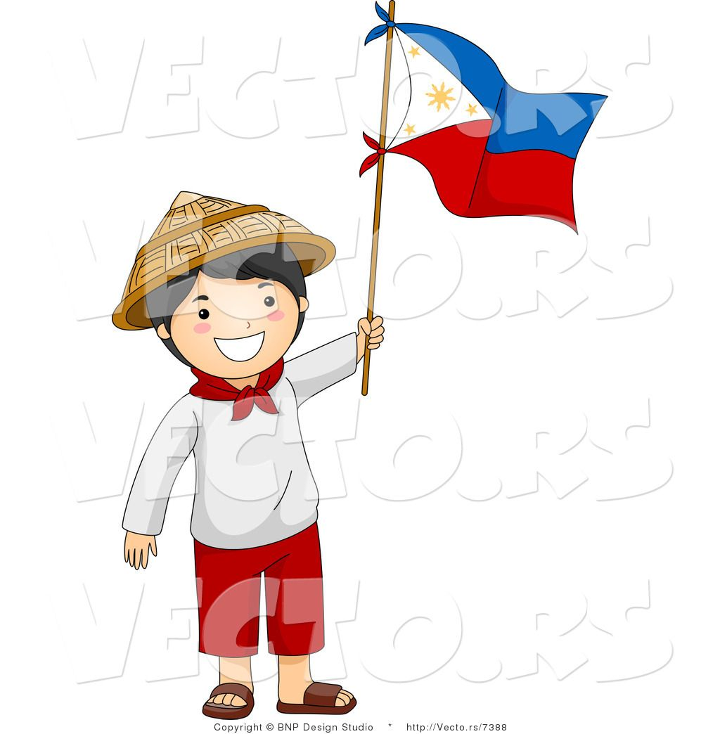 Pin By Elly Zissou On Philippines Philippine Flag Cartoons Vector Boy Character