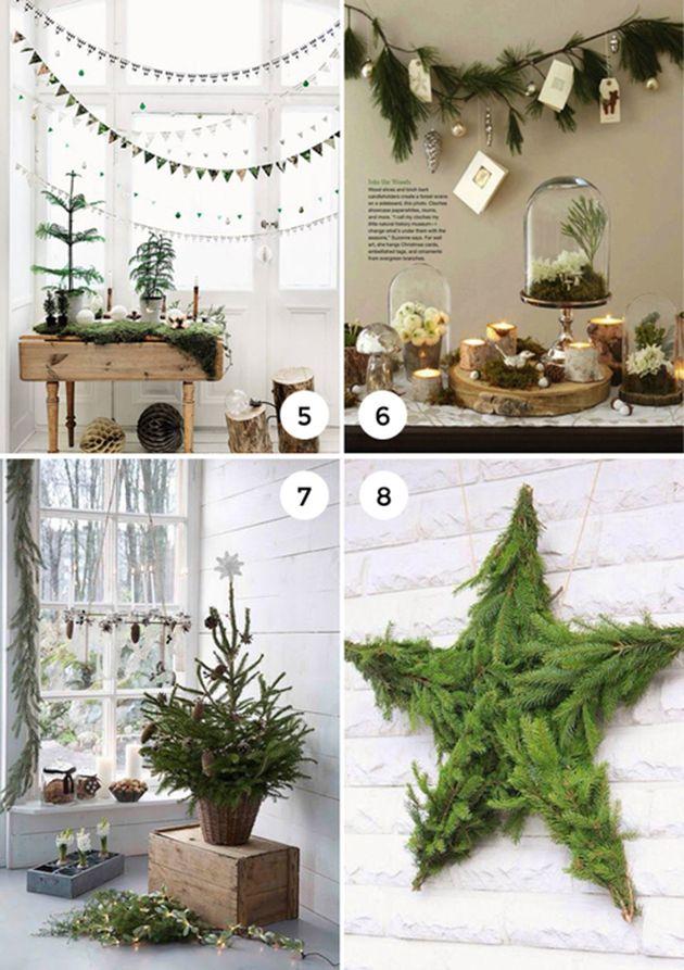 9 Natural Holiday Decor Ideas The Interior Collective Natural Holiday Decor Nature Decor Decor