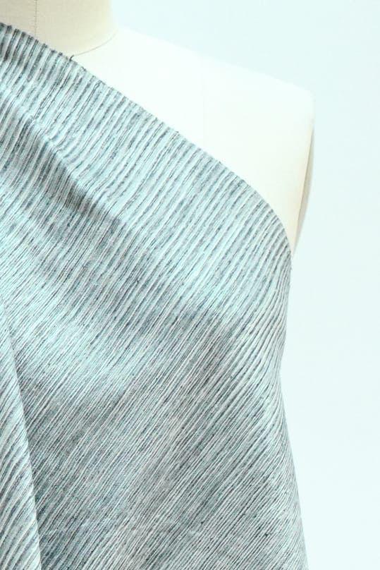 Skye Blues Raw Silk Woven