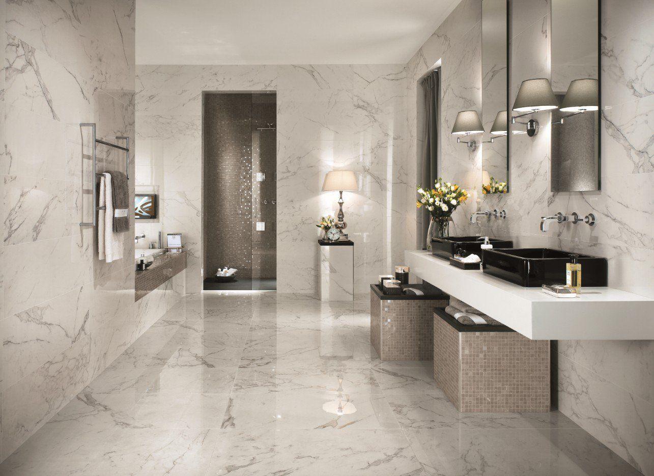 Inspiration 37 Ideen Fur Italienische Fliesen Im Badezimmer