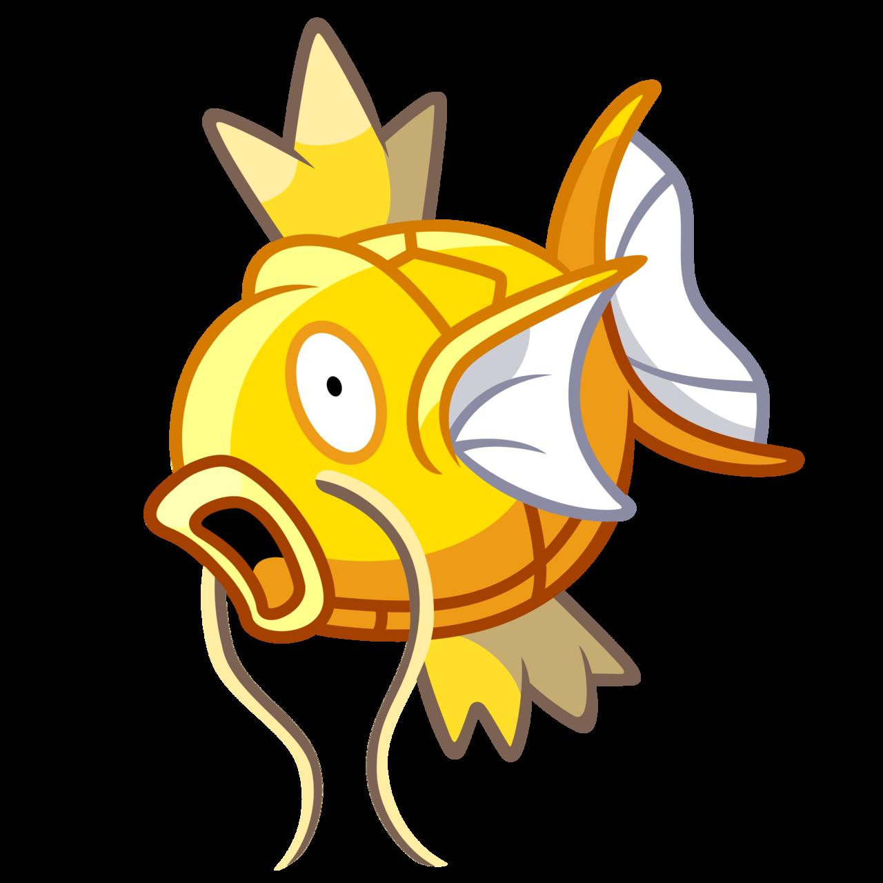Pokémon Sprite Vector Shiny Magikarp. Sprite from