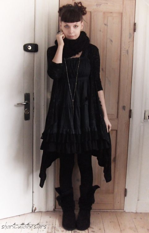 Dark Mori & Strega Fashion | My Style | Pinterest | Schwarze ...