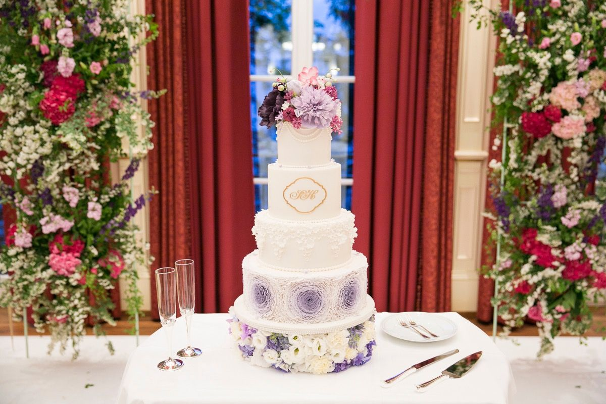 wedding cake @ elisabeth feldner