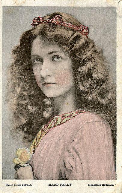 Maude Fealy | Vintage ladies, Maud, Belle epoque