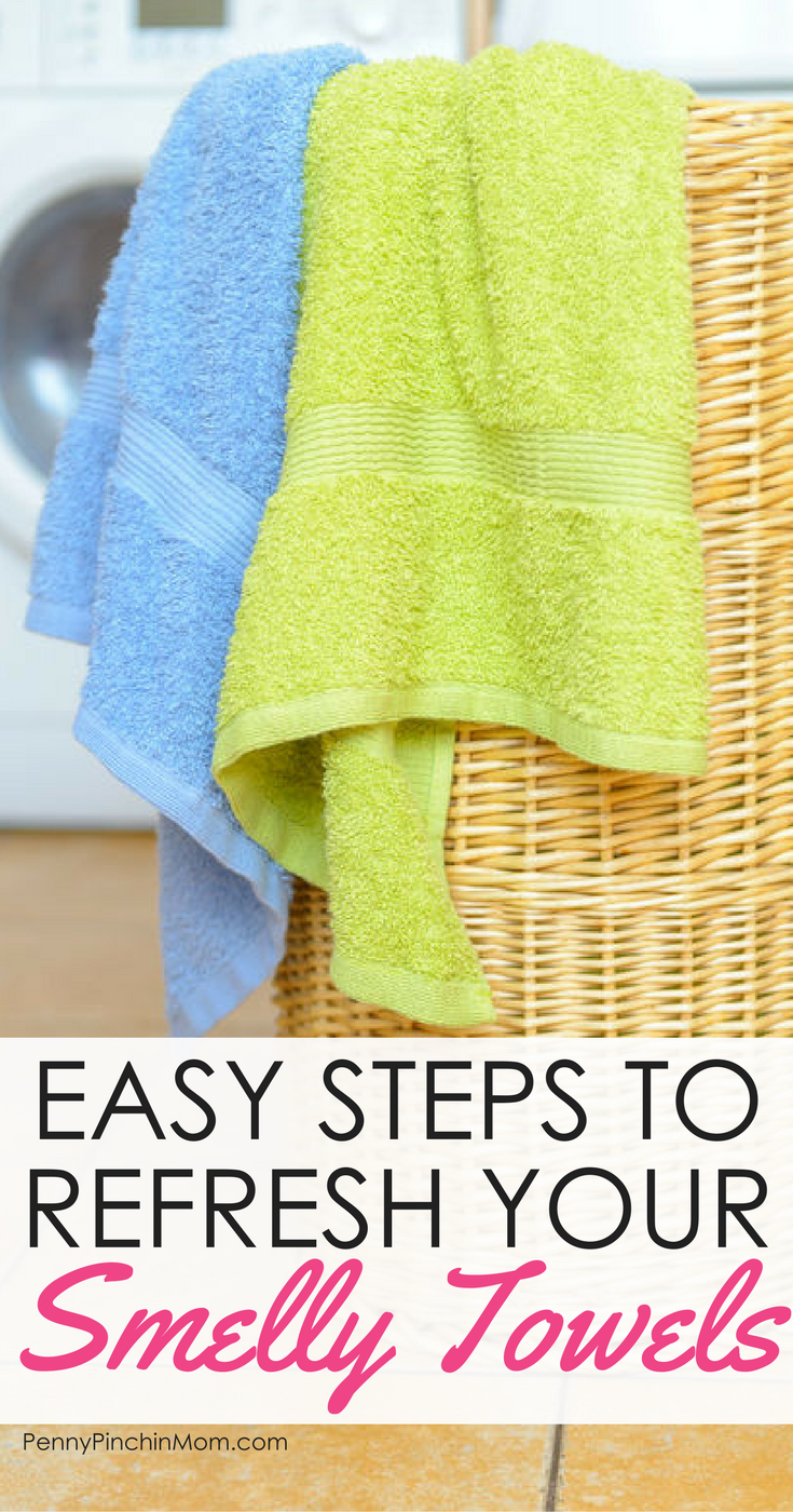 Life Hack Use banking soda and vinegar to freshen your towels