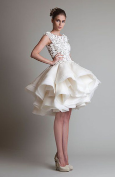 FASHION. Maybe a little too high fashion for my wedding, but it's still gorgeous.