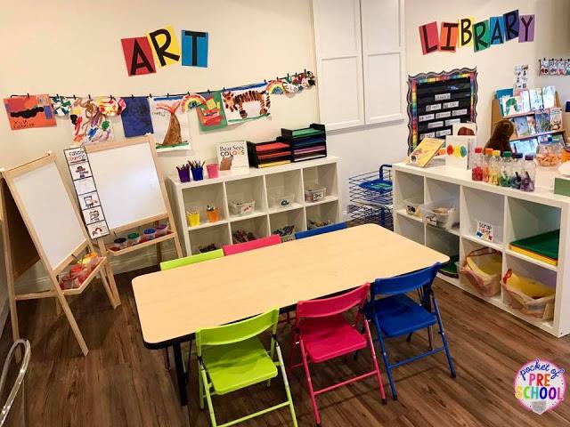 Academy #preschoolclassroomsetup