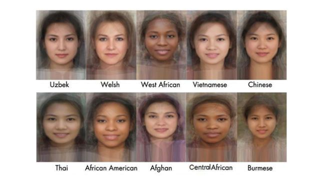 See The Average Face Of Women From 40 Different Countries Average Face Face Beauty Around The World