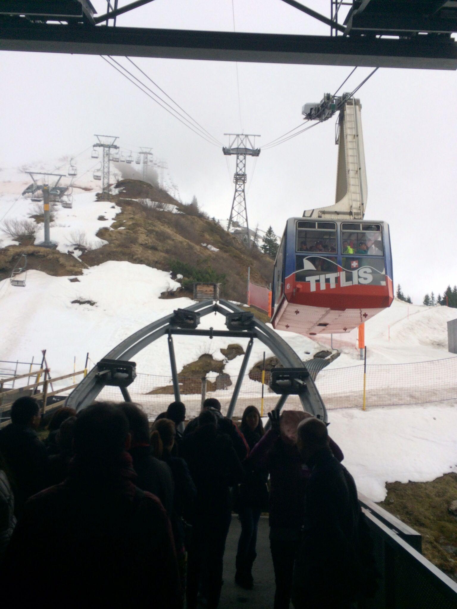 Titlis montaña suiza