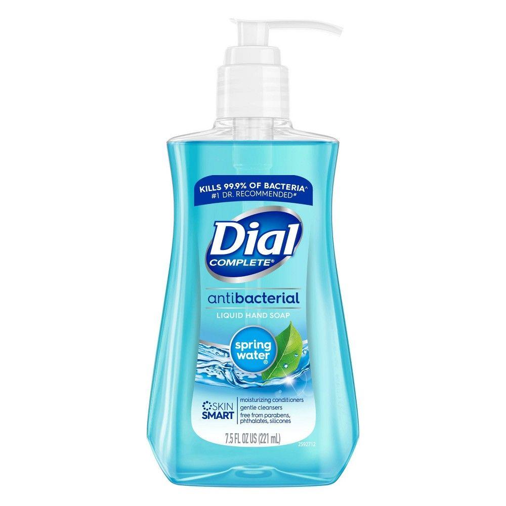 Dial Antibacterial Hand Soap Spring Water 7 5 Fl Oz ในป 2020