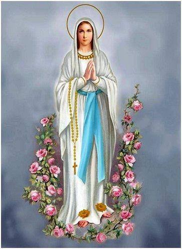 Celebración Y Oración De Consagración A La Virgen De Lourdes Día De Nuestra Señora La Nuestra Señora De Lourdes Virgen Lourdes Imágenes De La Virgen