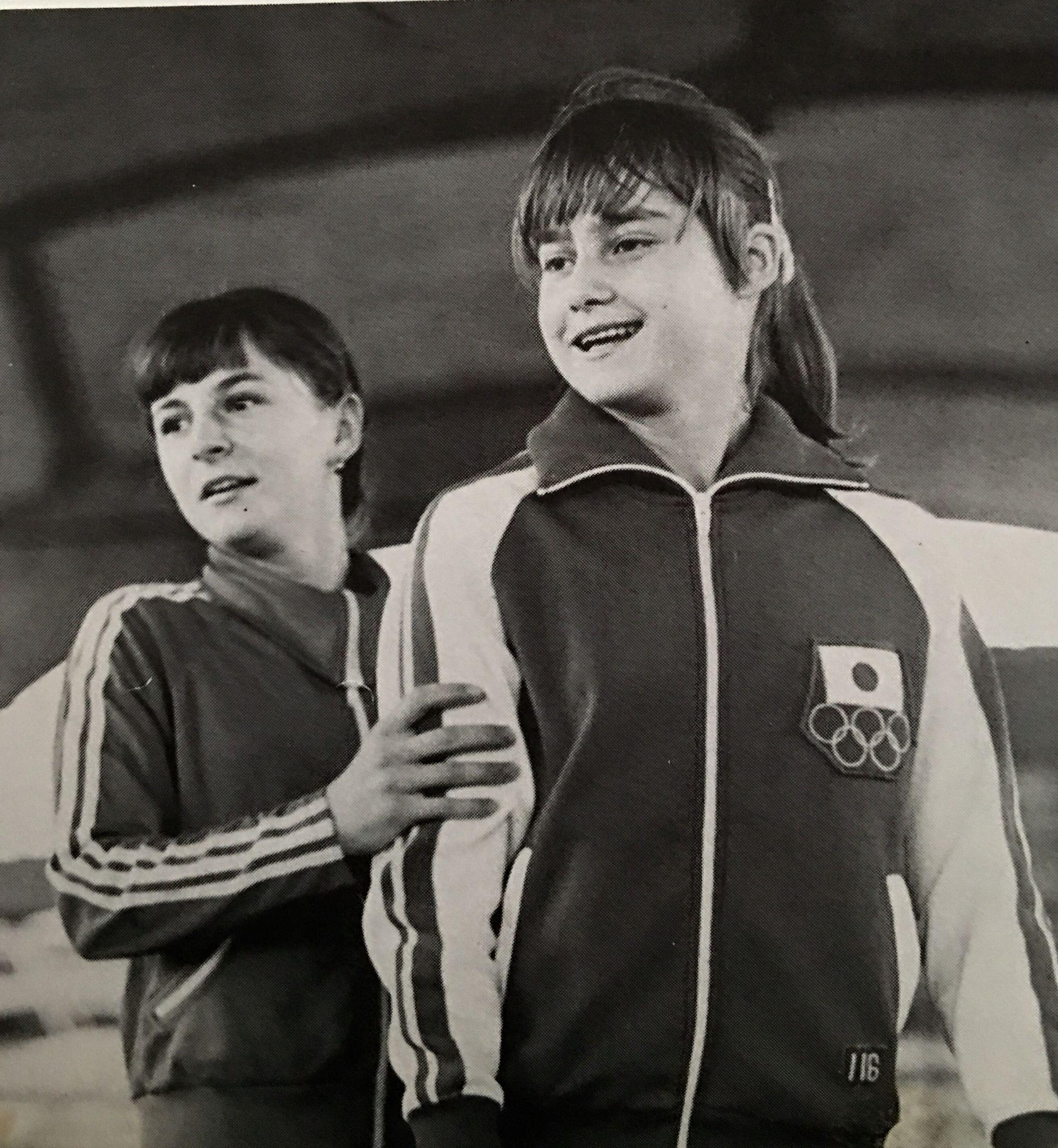 Nadia Comaneci and Teodora Ungureanu   Cool Gymnastics